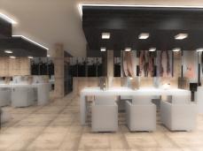 Bouthaina Salon & Spa, Jeddah, Saudi Arabia, con Vincenzo Donadio e Marco Cighetti